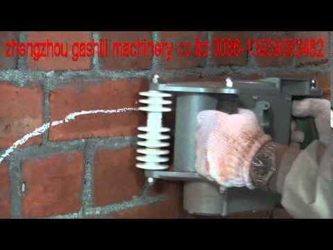 Wall Chaser Wall Groove Cutting Machine Working Video