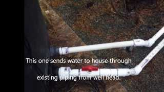 Solving the sulfur smell in well water problem