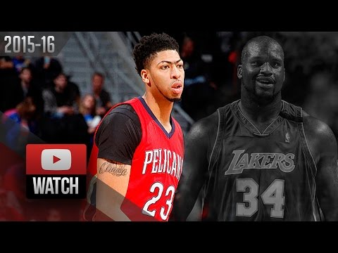 Anthony Davis Career-High Highlights at Pistons (2016.02.21) - EPIC 59 Pts, 20 Reb!