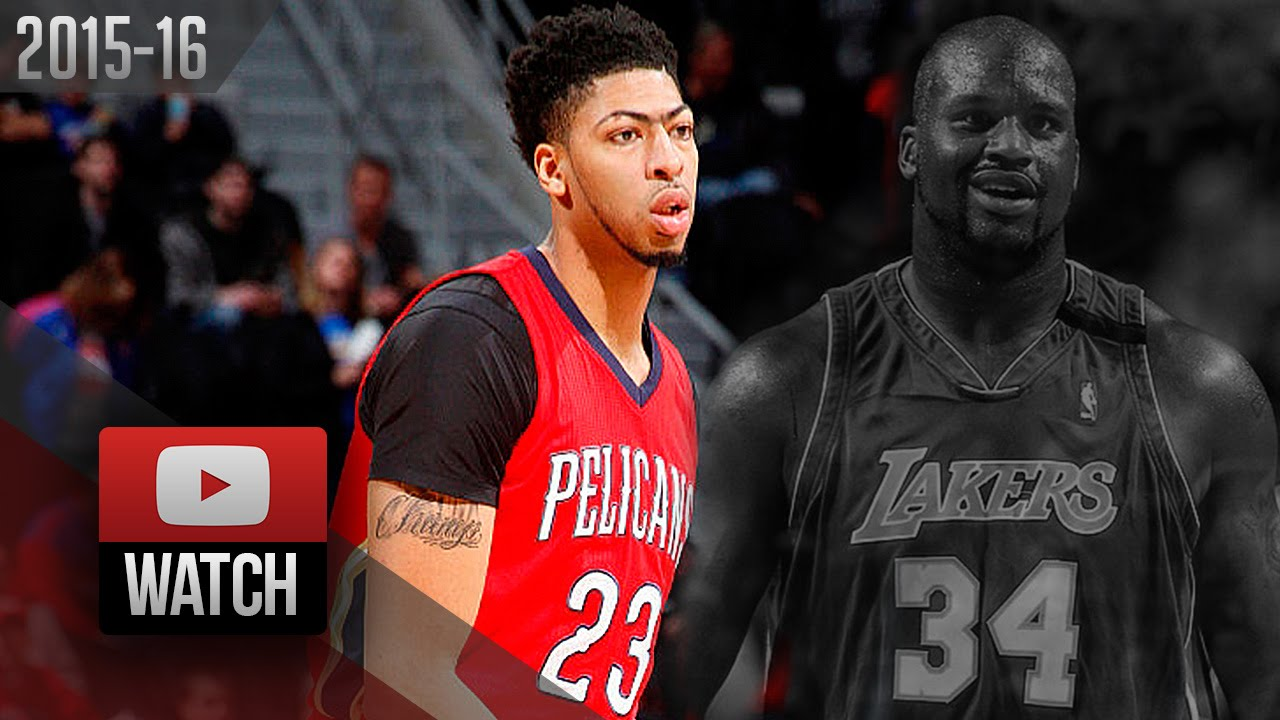 3a2b3147e Anthony Davis Full Career-High Highlights at Pistons (2016.02.21) - EPIC 59  Pts