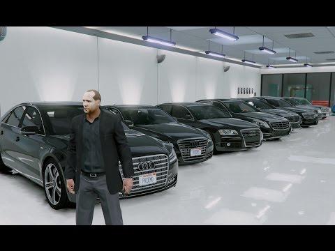 Gta V Jason Statham Transporter Cars Collection In Gta