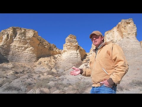 300 Acres of Fossil Formations Revealed