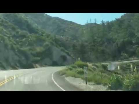 California Route 2 north of Los Angeles