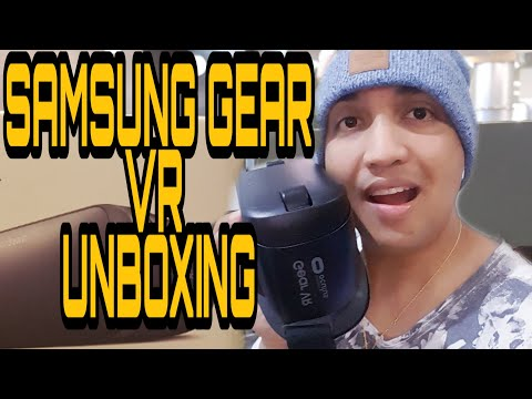 Samsung Gear VR unboxing and first impressions YouTube