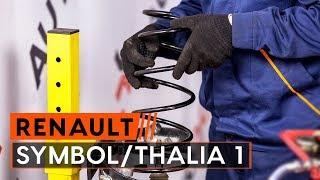 Смяна на преден десен Колесен цилиндър на RENAULT THALIA I (LB0/1/2_) - видео инструкции