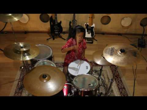 Download Lagu Tony Q - Reggae dot com - drum cover (Jopan DS)