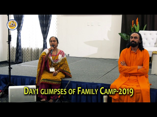 Day 2 of Spiritual Retreat & Family Camp 2019