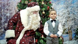 видеосъемка новогоднего утренника в детском