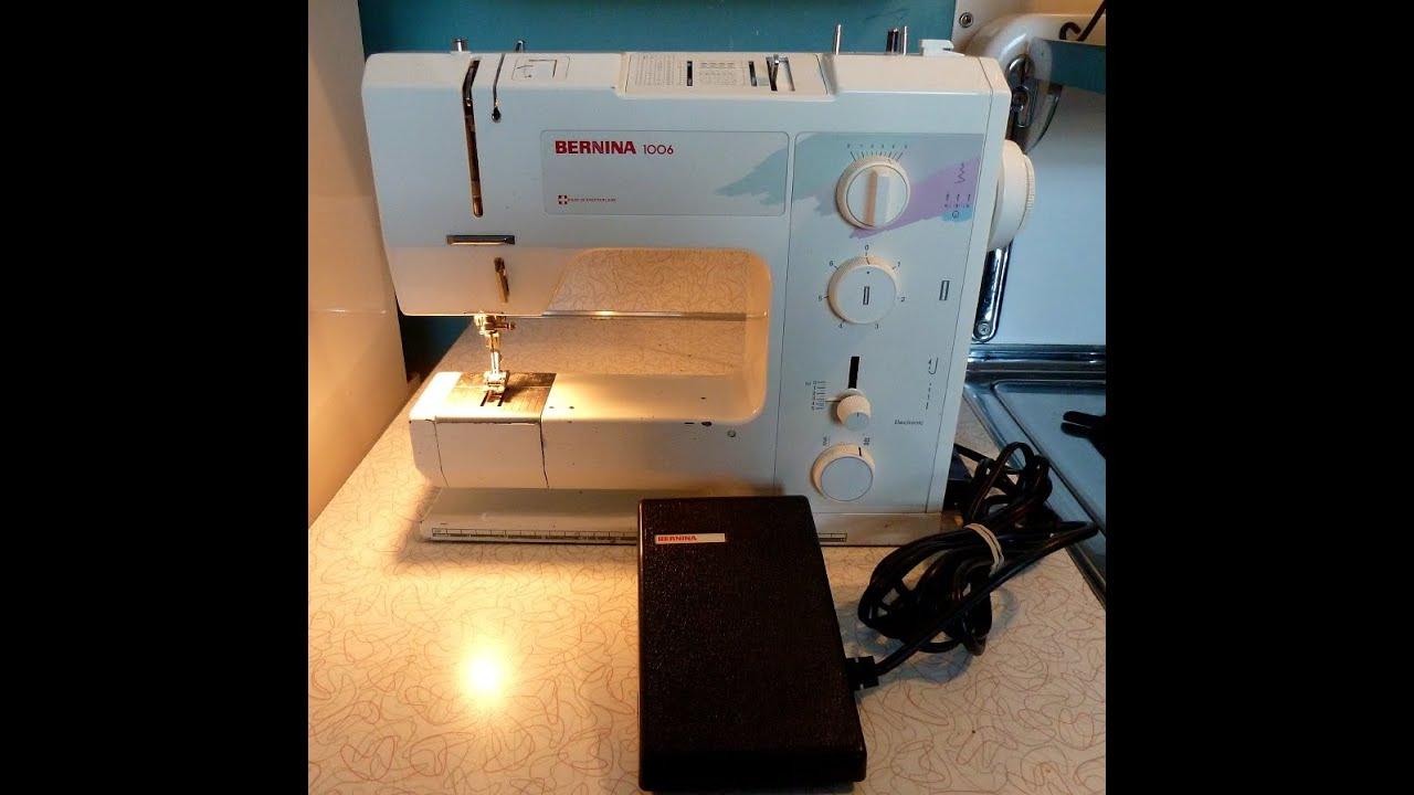 Repair a Bernina 1006 1008 Sewing Machine that skips stitches ...