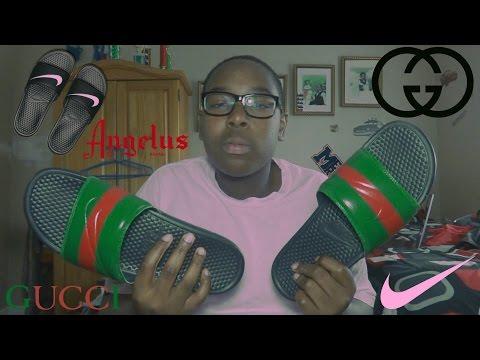 a7b527aa1e32 Gucci Flip Flops Unboxing - Action.News ABC Action News Santa ...