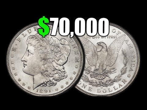 DO YOU HAVE A SILVER MORGAN DOLLAR ERROR COIN WORTH MONEY? 1891 MORGAN DOLLAR COIN VALUES