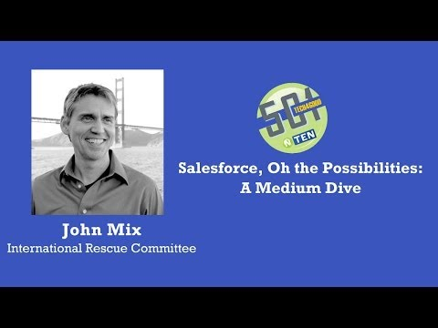 501 Tech NYC April 2014:Salesforce, Oh the Possibilities: A Medium Dive