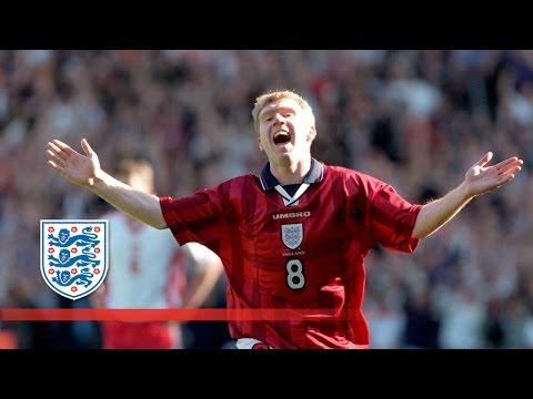 Paul Scholes' England hat-trick | From The Archive
