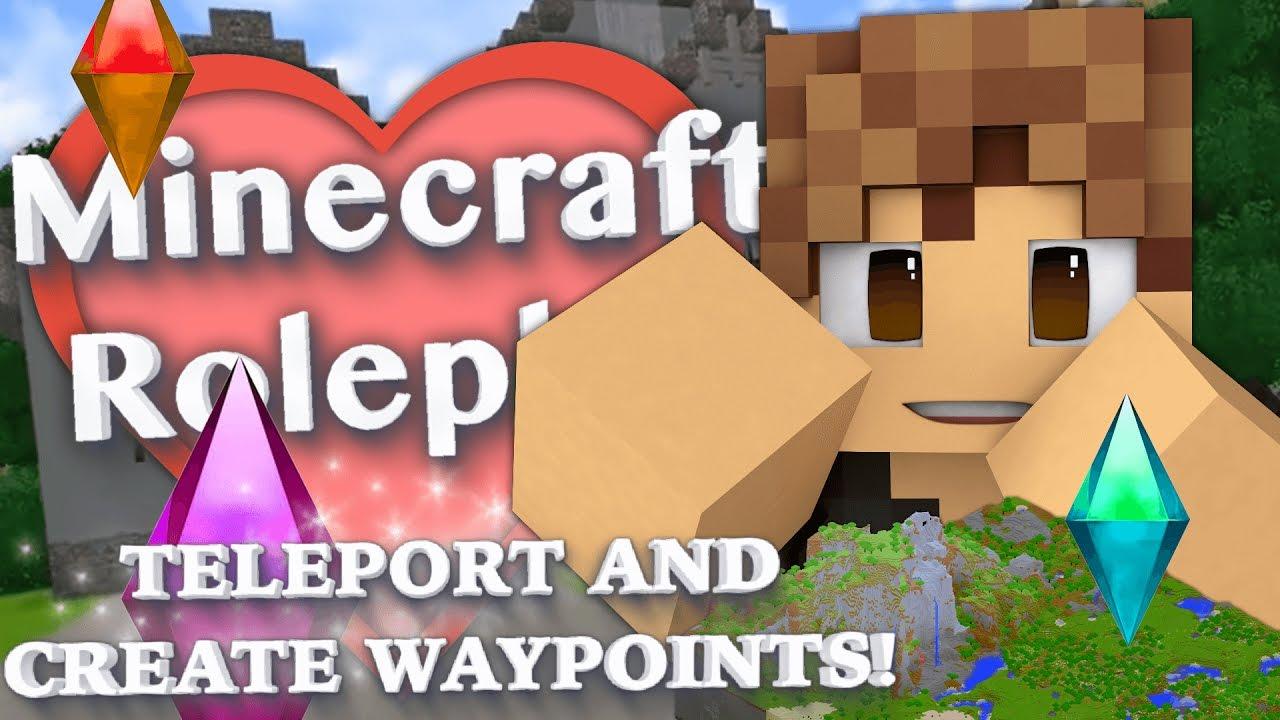 Teleport Anywhere In Minecraft Create Points WJourney Map Mod - Journeymap map para minecraft 1 11