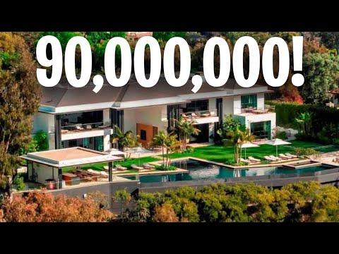 Inside $90 Million Mansion In Santa Monica, California