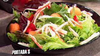 Receta del día - Ensalada de cangrejo thumbnail