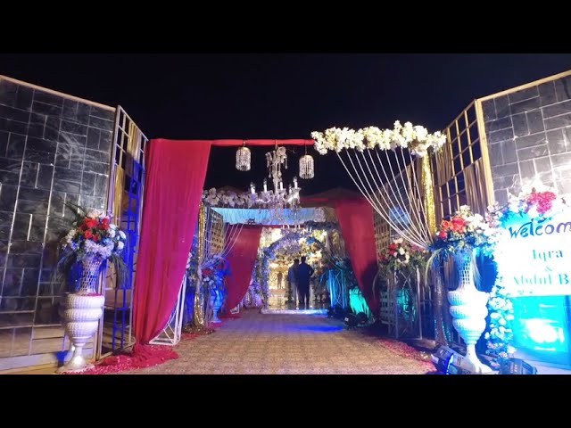Captivating Barat event decor   Event management company in Pakistan a2z Events Solutions