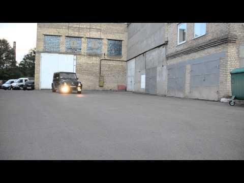 Hamann Mercedes G class W463 тюнинг обвес и тюнинг салона