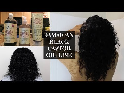Shea Moisture Jamaican Black Castor Oil Line Wash & Go