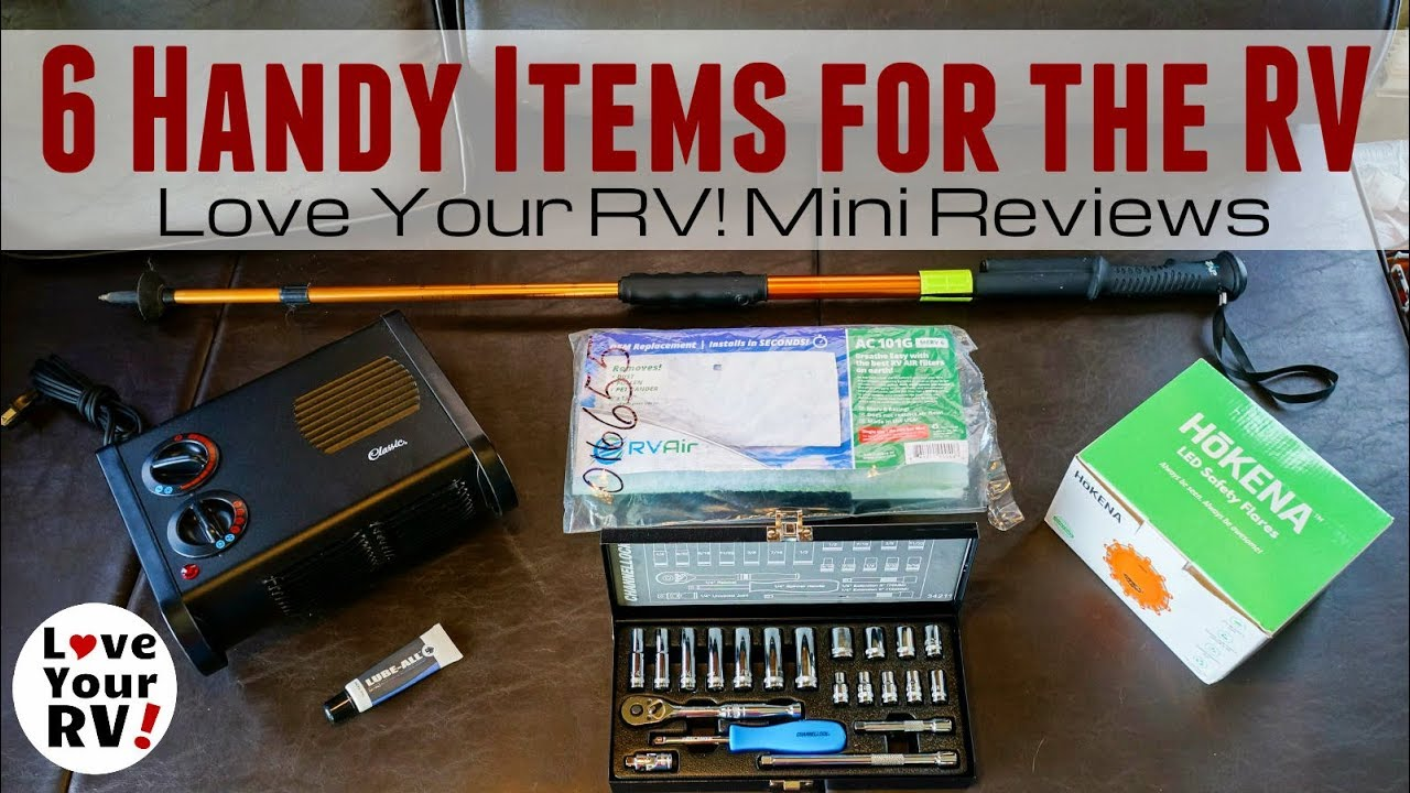 Six Handy Items For The Rv Love Your Rv Mini Reviews