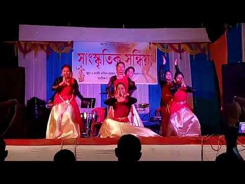 Namami Brahmaputra|Goalpara |Hindi |Dance cover |Shantinagar Kaali mandir|Papon