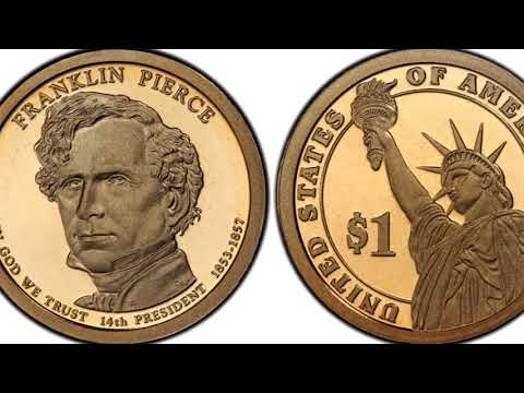 US PRESIDENTIAL DOLLAR COINS - Values, Facts And History