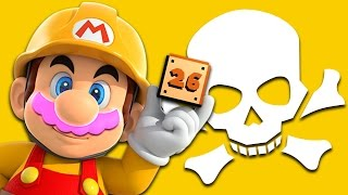 DEATH and PAIN and BUTTHURT | Mario Maker #26