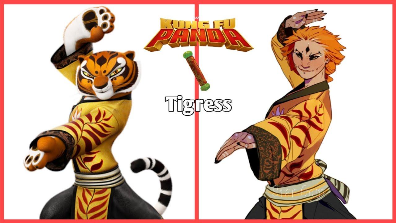 Download Kung Fu Panda Characters As Human Version 💥 All Characters