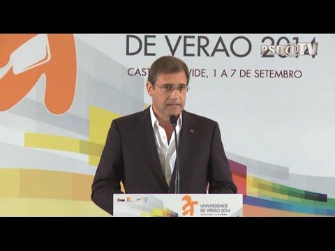 Pedro Passos Coelho - Encerramento da UV 2014