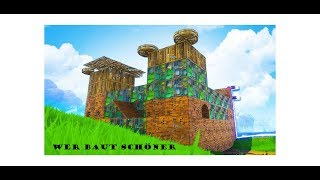 Fortnite Playground / Who builds the nicer house// Freez_Crew