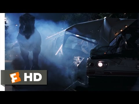 The Lost World: Jurassic Park (9/10) Movie CLIP - Downtown Rampage (1997) HD