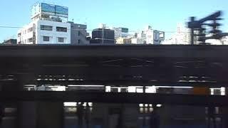 2018/11/10 新幹線Maxたにがわ315号越後湯沢行き 東京駅発車後 車内放送