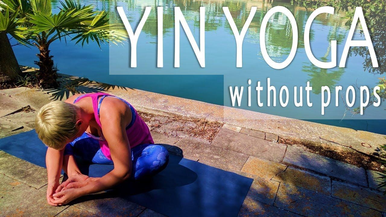 Yin Yoga Without Props | 45 Minutes | Timberlake Yoga