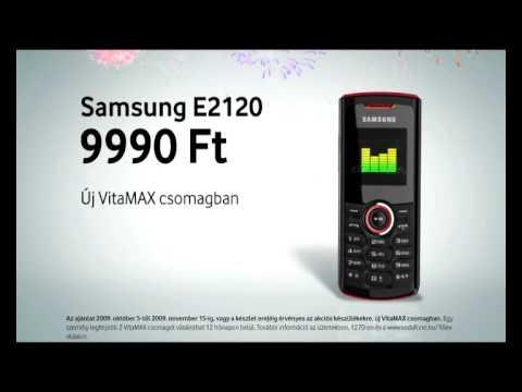 10 éves a Vodafone - Samsung E2120