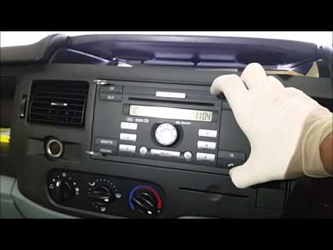 how to remove a 2011 ford transit van stereo youtube. Black Bedroom Furniture Sets. Home Design Ideas