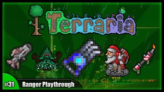 Let's Play Terraria 1.2.4 || Ranger Class Playthrough || Digging Claws & Frost Moon! [Episode 31]