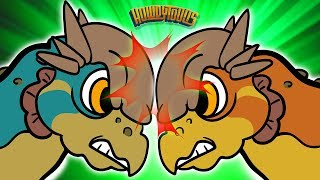 Pachycephalosaurus Song - Dinosaur Songs from Dinostory by Howdytoons S2E05