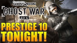 PRESTIGE 10 TONIGHT! - Ghost Recon Wildlands PVP | New Woodland Ghillie Suit CHEESE!