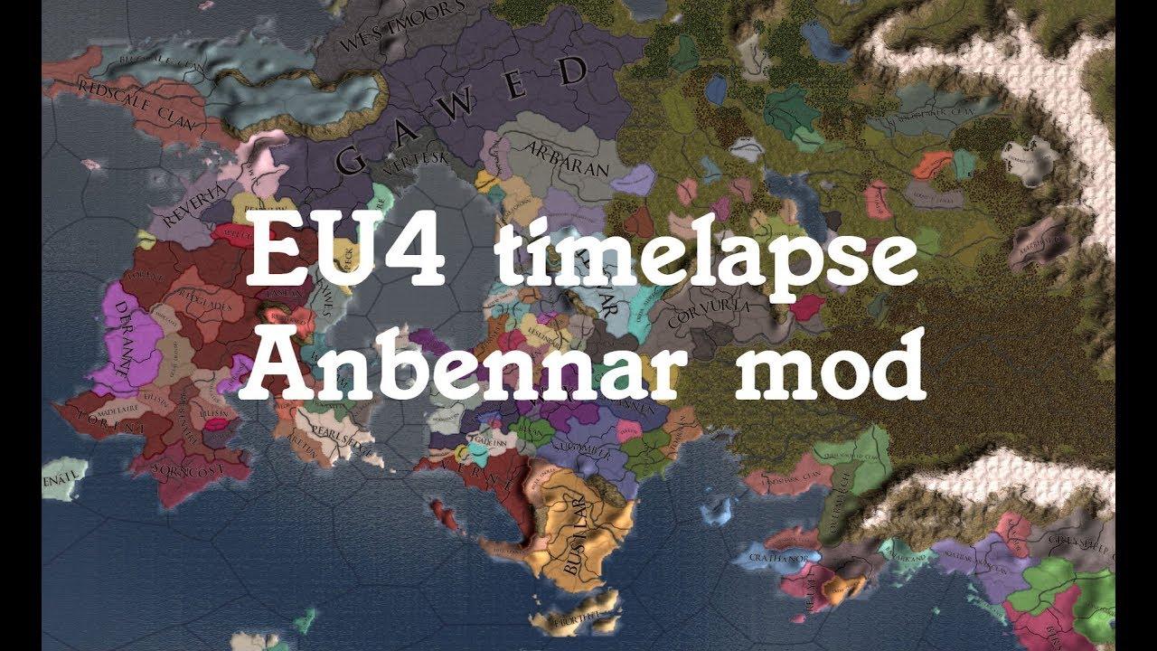EU4 timelapse - Anbennar mod