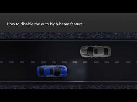 Honda Insight: How To Use Auto High-Beam Headlights