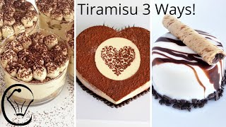 3 EASY Tiramisu Dessert COMPILATION Delicious Coffee Desserts Make Ahead Dessert Cups Glazed Dessert