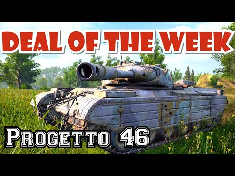 Progetto 46 Deal Of The Week Premium || World Of Tanks SummerSlam Console PS4 XBOX