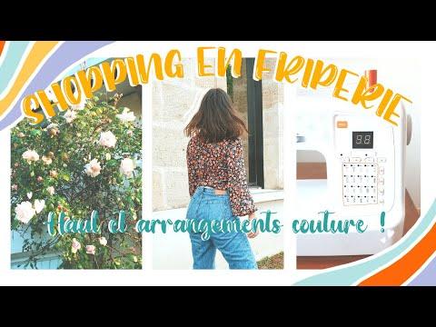 Download VLOG shopping en friperie, haul et couture !