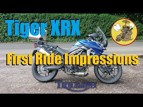 Triumph Tiger 800 XRX Low Ride Height Variant - Quick Ride Review