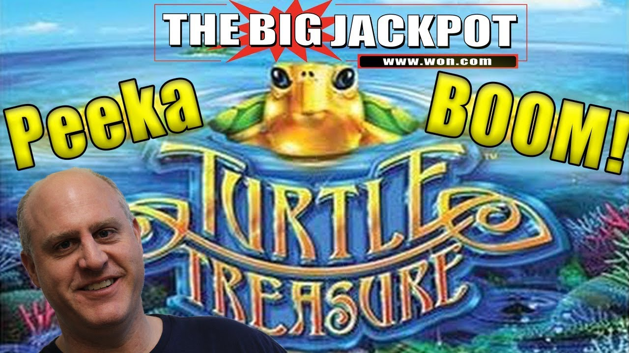 Turtle Treasure 💣PEEKABOO HANDPAY 🐢 | The Big Jackpot