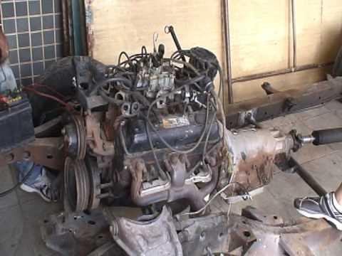 motor chevrolet v8 350 5.7l antes da restauração - youtube diagram 350 5 7 v8 engine #6