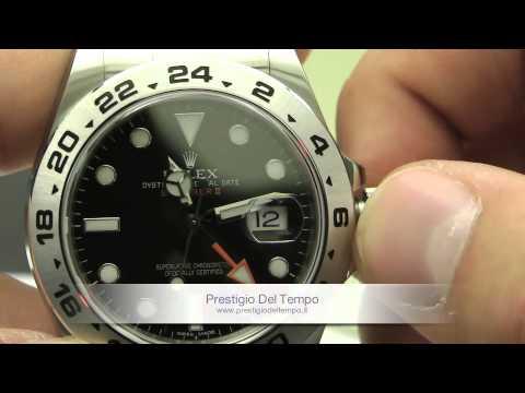 Rolex Oyster Perpetual Explorer II ref 216570