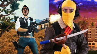PUBG VS FORTNITE - Rap Battle