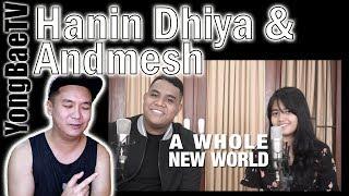Hanin Dhiya Andmesh A Whole New World Peabo Bryson, Regina Belle Reaction YongBaeTV.mp3