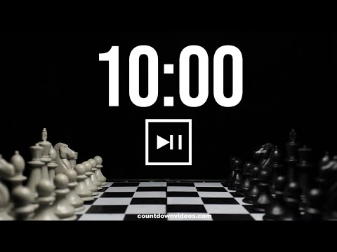 Chess Online Clock Timer With Alarm ♟️⏱️